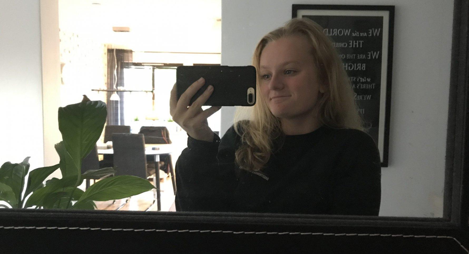 Ida Björling, elev på Hagströmska Gymnasiet Linköping